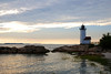 Annisquam Light, Evening