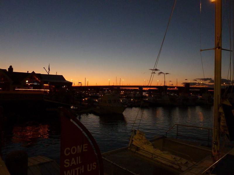 Newburyport,  Boardwalk Evening