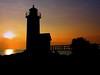 Annisquam Light, Sunset