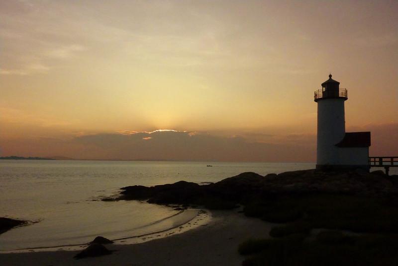 Sunset Annisquam Light