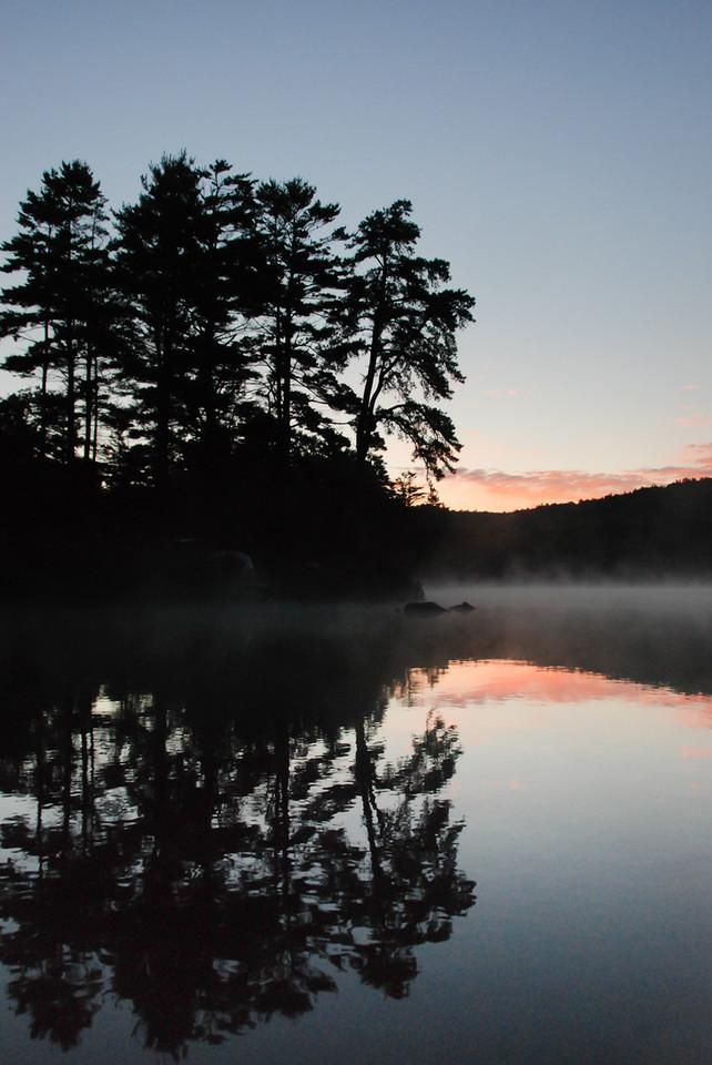 Wakening, Tully lake, MA