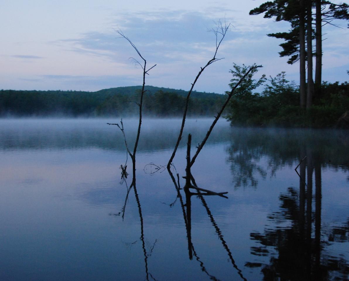 Sleepy waters, Tully Lake, MA