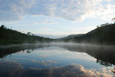 Early morning at Tully Lake, MA