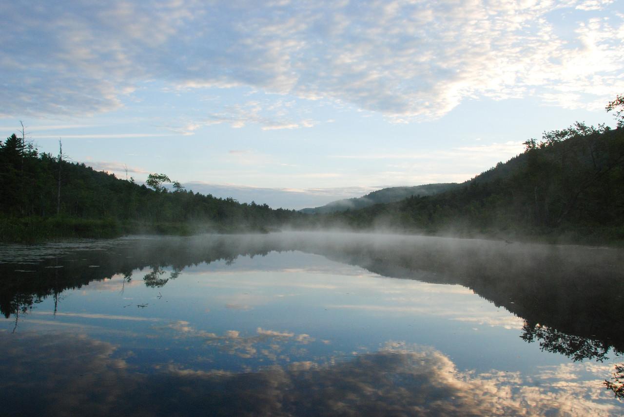 Early morning at Tully Lake, MA