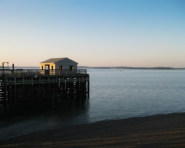 Pier, Peddocks Island