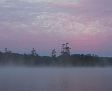 Sunrise light, Tully Lake, MA