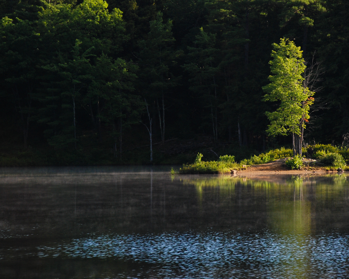 Tully lake, MA