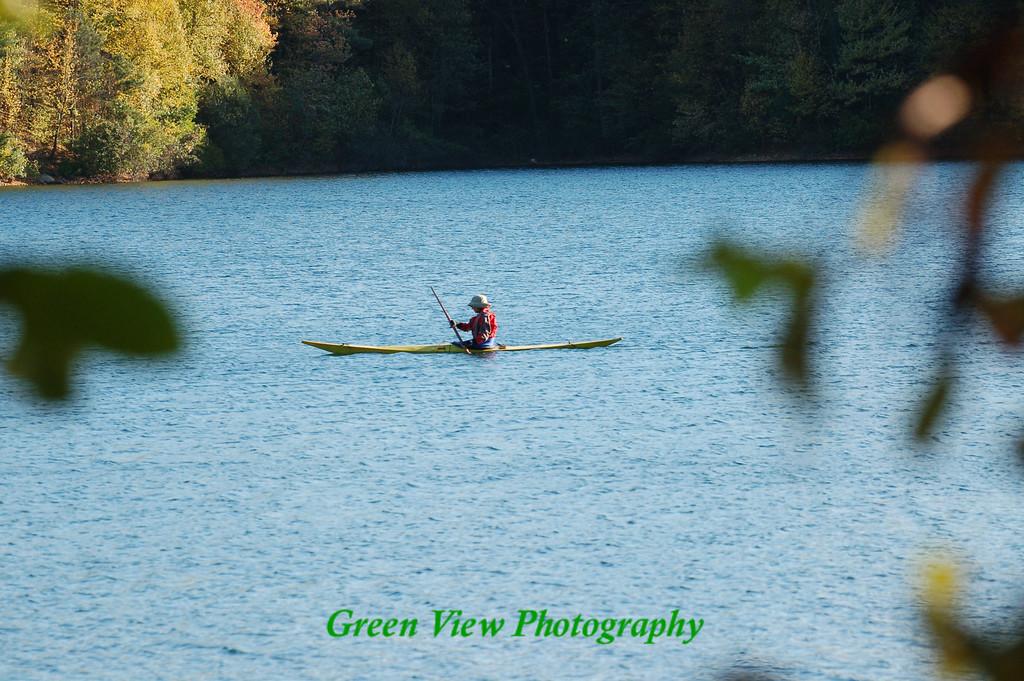 Walden Ponds Kayaker