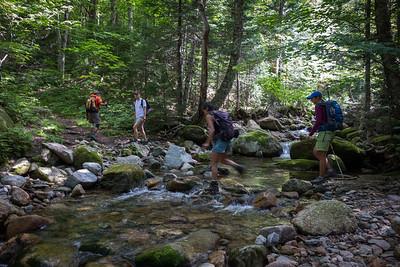Crossing of Sabbaday brook