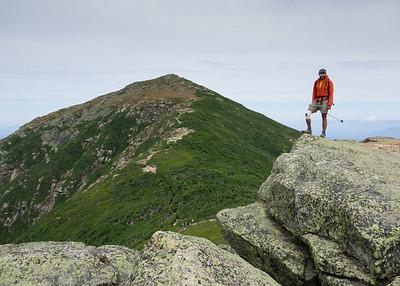 Hiking to Mt Lafayette