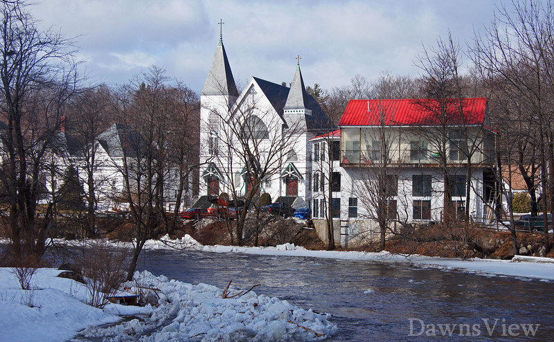 Souhegan River, Milford NH-March 2011