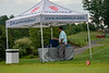 Mass Golf Executive Director & CEO Jesse Menachem enjoys a quiet moment before the action starts