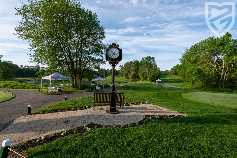 Can't miss your tee time here!