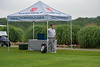 Mass Golf Executive Director and CEO Jesse Menachem waits for the action to start on the 1st Tee