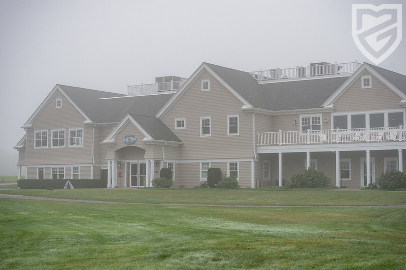 The Plymouth CC clubhouse