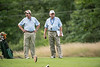 Officials Jerry Gouveia and John Emond of the New England Golf Association