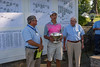 John Walsh, NEGA President and Harry McCracken, NEGA Executive Director congratulate James Turner, 2016 New England Amateur  Champion