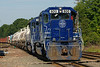 PAR train EDPO at Ayer, MA for a crew change. 8/16/2013 - 598C5703dK