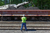 Undercutting began today at MP83, Palmer, MA to increase the clearance under the Main St. bridge. 6/9/2013 - 598C0520dK