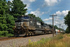 The same westbound NS stack train, still in Shirley, but in the sun this time...8/16/2013 - 598C5834dK