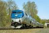 Amtrak 449 at MP57, Charlton, MA. 5/7/2015 - 598C7119dK