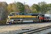 P&W 100 - ex FEC - SD70M-2 at Gardner, MA. 10/20/2015 - 598C9736dK