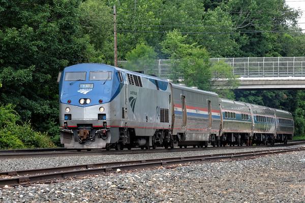 A rather diminutive Amtrak 449 at MP64, East Brookfield, MA. 7/15/2015 - 598C2716dK