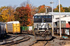 Train 22K in the Gardner, MA yard on a beautiful Fall morning. 10/19/2016 - 598C6776dK