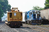 Mass Central 1751 switching in the CSX yard at MP83 in Palmer, MA. 7/7/2016 - 598C0165dK
