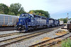 Sporting three Pan Am units, EDPO holds track 2 in the Gardner, MA yard. 9/21/2016 - 598C6094dK