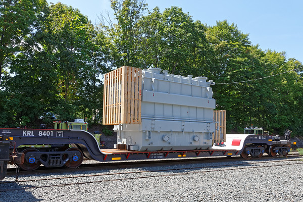 OD load on a small Schnabel car in the yard at MP83. 8/9/2016 - 598C3186dK