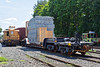 OD load on a small Schnabel car in the yard at MP83. 8/9/2016 - 598C3188dK