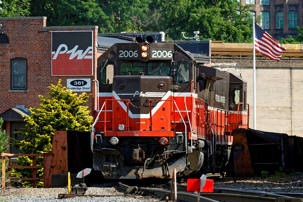 At the P&W yard in Worcester, MA. 7/1/2016 - 598C9853dK