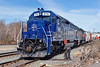 Waiting for a recrew, Pan Am train EDPO holds track 1 in the Gardner, MA yard. 4/21/2016 - 598C6978dK