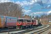 P&W train WOGR picks up a cut of cars in the Gardner, MA yard. 3/17/2016 - 598C5396dK