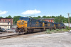 Train POSE swings onto the east wye in Ayer with an interesting mix of cars. Crew was on short time and were hoping to make it to Worcester and tie it down at New Bond St. 6/6/2016 - 598C8871dK