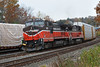 The P&W switches the yard in Gardner MA. 11/1/2017 - 598C4296dK