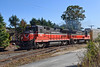 P&W (G&W) train WOGR heads north through Holden MA. 10/18/2017 - 598C4079dK