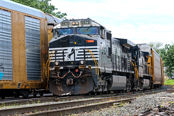 Train 28N tied down waiting for a recrew. 6/22/2017 - 598C2555dK