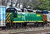 That interesting 4th unit turns out to be a very shiny brand new used GP30 for the New Hampshire Northcoast. 4/30/2017 - 598C1697dK