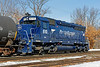 MEC 610 (AY-1) was busy switching the Hill Yard in Ayer, MA. 2/21/2017 - 598C0550dK