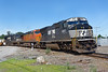 The power on 22K featured a BNSF unit sandwiched between two NS units all running elephant style. 6/22/2017 - 598C2496dK