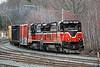 Next into the Gardner yard was P&W train WOGR. 4/19/2017 - 598C1441dK