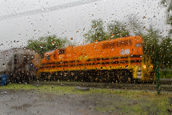 A few hours in the rain in Palmer MA...<br /> As NECR train 603 headed towards the diamond it REALLY started to come down.<br /> 6/4/2018
