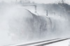 FRED, FRED, are you still there FRED?<br /> ED-9 kicks up quite a cloud of snow as it runs through Shirley MA.<br /> 1/19/2018