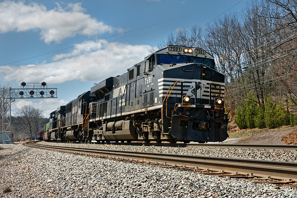 We meet up with train 22K yet again as it rolls through Shirley MA at track speed.<br /> 4/26/2018