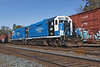 MCER 1750 and 1751 idling in the CSX yard at MP83 in Palmer MA.<br /> 10/22/2018