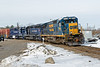 Pan Am train EDPO on the east wye in Ayer MA.<br /> 3/23/2018