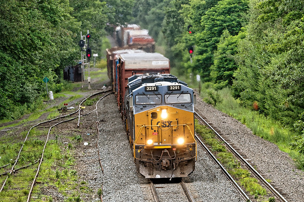 Q426 was such a long, slow train that we were able to catch it again at MP64 in East Brookfield.<br /> 7/2/2019