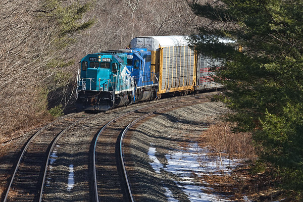 As B740 was approaching, the EBSR had pulled down around the corner almost to MP64.<br /> 2/6/2019